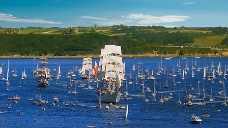Falmouth 2014, taken from Rosemullion head overlooking Pendennis point. Picture by agostinosangel, T
