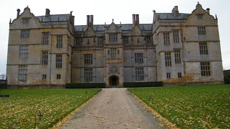 Montacute House in now taken care of by the National Trust