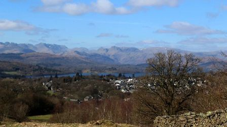 View from School Knott by Denise Dixon