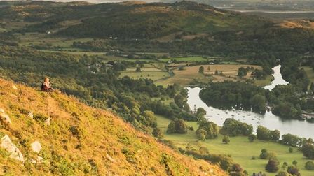 The view from Gummer's How by Stewart Smith