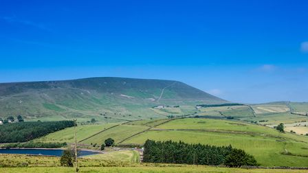 Pendle from above Barley