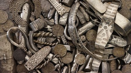 Items from the Cuerdale Hoard, found by the Ribble