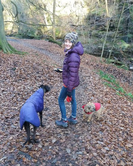 Jenny with Narla and Amber