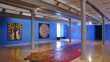 Summer of Love painting room at Tate Liverpool 2017