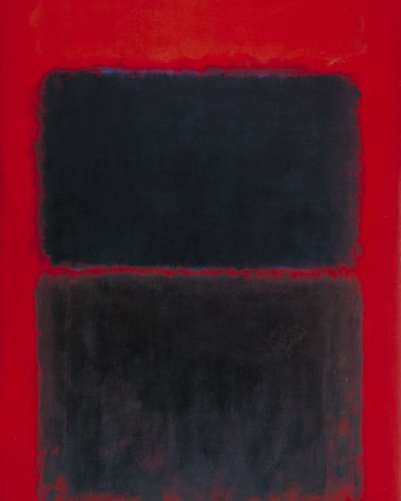 Light Red Over Black by Mark Rothko, 1957 [credit: Tate Liverpool]