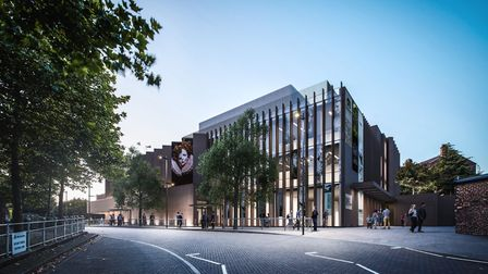 An impression of the new Shakespeare North complex