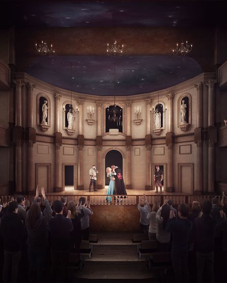How the £24 million Shakespeare North Playhouse is expected to look
