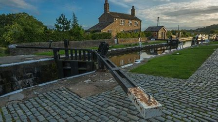 First light at Top Lock by John Lever