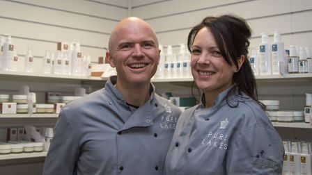 Gareth and Claire McKeever have boosted turnover at Pure Lakes by 300 per cent