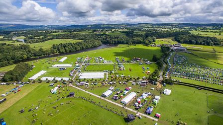 The 150-acre showground is on the banks of the Ribble
