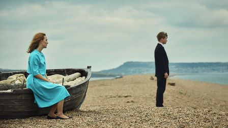 Chesil Beach plays a starring role in this feature film alongside Sairose Ronana and Edward Howle [I
