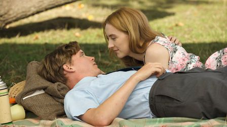Saoirse Ronan and Edward Howle as the innocent young couple who get married in the early 1960s