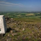 The grand view from the top of Clougha Pike (c) Dennis and Jan Kelsall