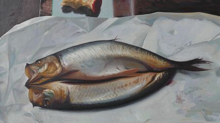 A still life of kippers - George Melling