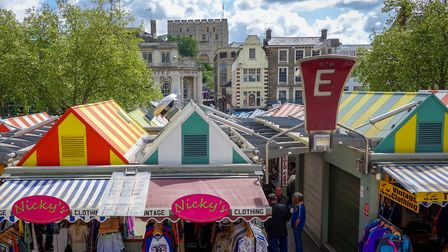 Norwich Market is home to a plethora of food and drink stalls (photo: michaeljohnbutton, Flickr, CC