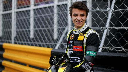 Lando Norris is the Formula 1 reserve driver for 2018 (c) James Gasperotti/Lando Norris