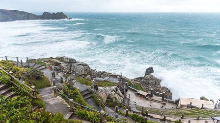 The Minack Theatre. Picture by oBebee, Shutterstock