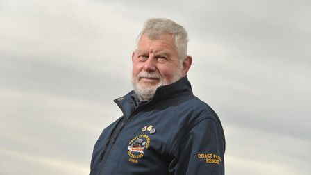 John Cresswell, Chairman of The Felixstowe Volunteer Coast Patrol Rescue Service (FVCPRS). Picture: