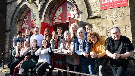 The Dukes Community Company who will appear alongside the professional cast in The Three Musketeers