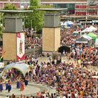 The city becomes awash with colour for the two weeks of Bristol Pride (c) Neil James Brain