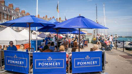 Pommery bar. Picture by Resort Marketing Ltd.