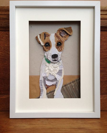An upcycled Jack Russell