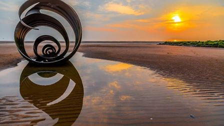 Mary's Shell Cleveleys by Ronald Manuel