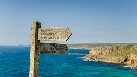 South West Coast Path in Cornwall. Picture by AlbertPego