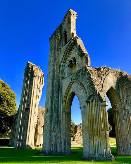 Visit the glorious 36-acre grounds of Glastonbury Abbey (c) James Stringer