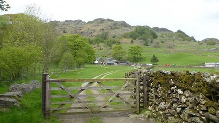 The countryside around Kentmere