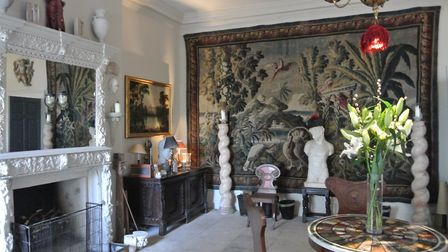 Tapestry-clad room in Wolterton (photo: Lindsay Want)