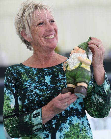 Local lass Carol Klein is a familiar face at the show