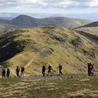 Between Fairfield and Hart Crag, where the Fairfield and Deepdale Horseshoes coincide (c) Vivienne C