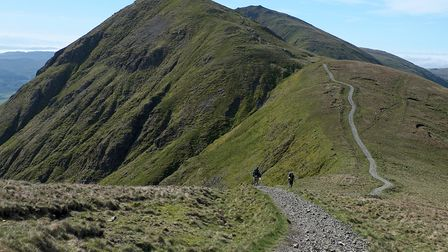 Froswick and Ill Bell on the western arm of the Kentmere Horseshoe (c) Vivienne Crow
