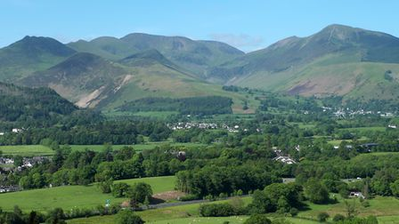 The Coledale fells seen from Latrigg (c) Vivienne Crow
