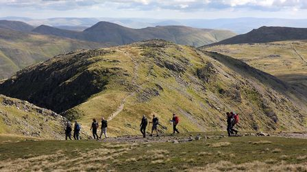 Between Fairfield and Hart Crag, where the Fairfield and Deepdale Horseshoes coincide (c) Vivienne