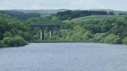 Viaduct at Wayoh Reservoir by Roger Sharp