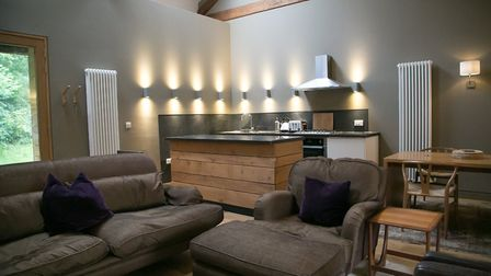 Inside the apartments at Sunny Brow