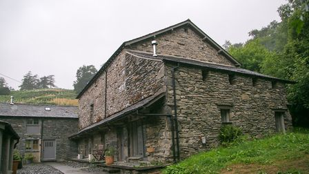 Much of the complex near Hawkshead is made up of restored barns
