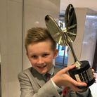 Pride of Britain Young Fundraiser of the Year 2017, George Mathais from St Helens