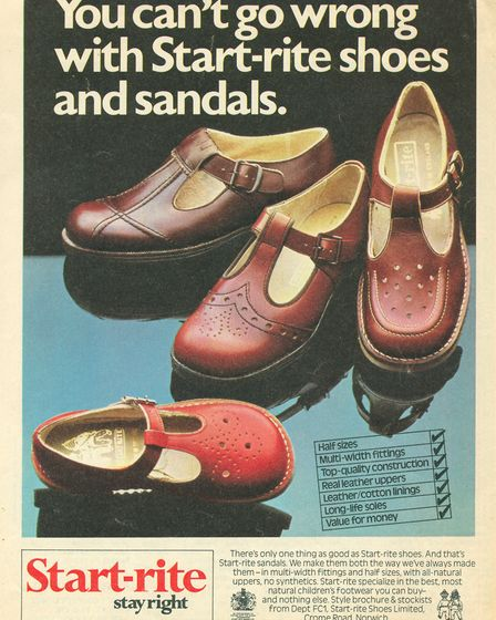 Many of us grew up wearing Start-rite - a reminder of Norwich's shoe making heritage (Start-rite, 19