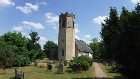 Old Buckenham church (photo: Peter James)