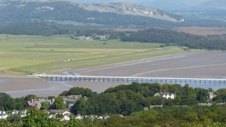 Arnside from the Knott by David Ashmore