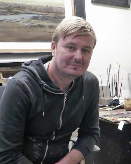 A brain tumour led to Michael Ashcroft becoming a full time artist