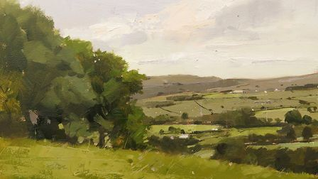 One of Michael's Lancashire landscapes, One Summer