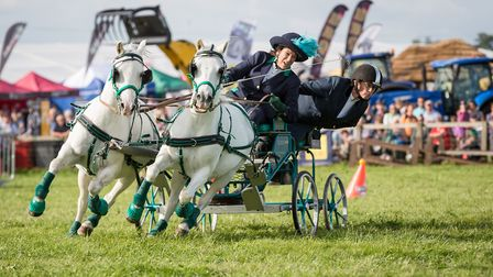 Scurry racing at the Dorset County Show. Picture by Stephen Jones. copyright@dorsetbay.plus.com
