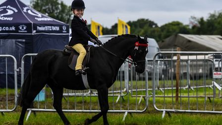 Equestrian skills are a key part of the show