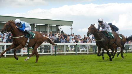 Action from Yarmouth races (photo: Nick Butcher)