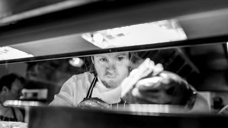 Head chef at Ribby Hall Chris Parsons