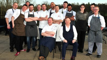 The Passion to Inspire chefs at Stoke by Nayland Hotel, Golf & Spa